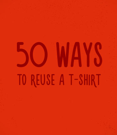 It takes over 700 gallons of water to make one new T-shirt.